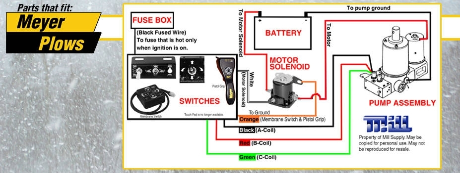 Meyer Snow Plow Wiring Diagram regarding Meyer Plow Wiring Diagram