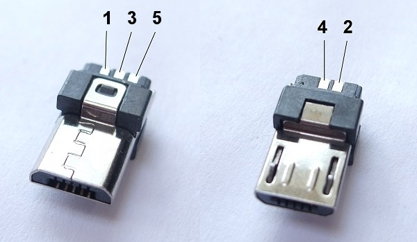 Micro Usb Pinout, Because Everything Is Terrible intended for Micro Usb Wiring Diagram