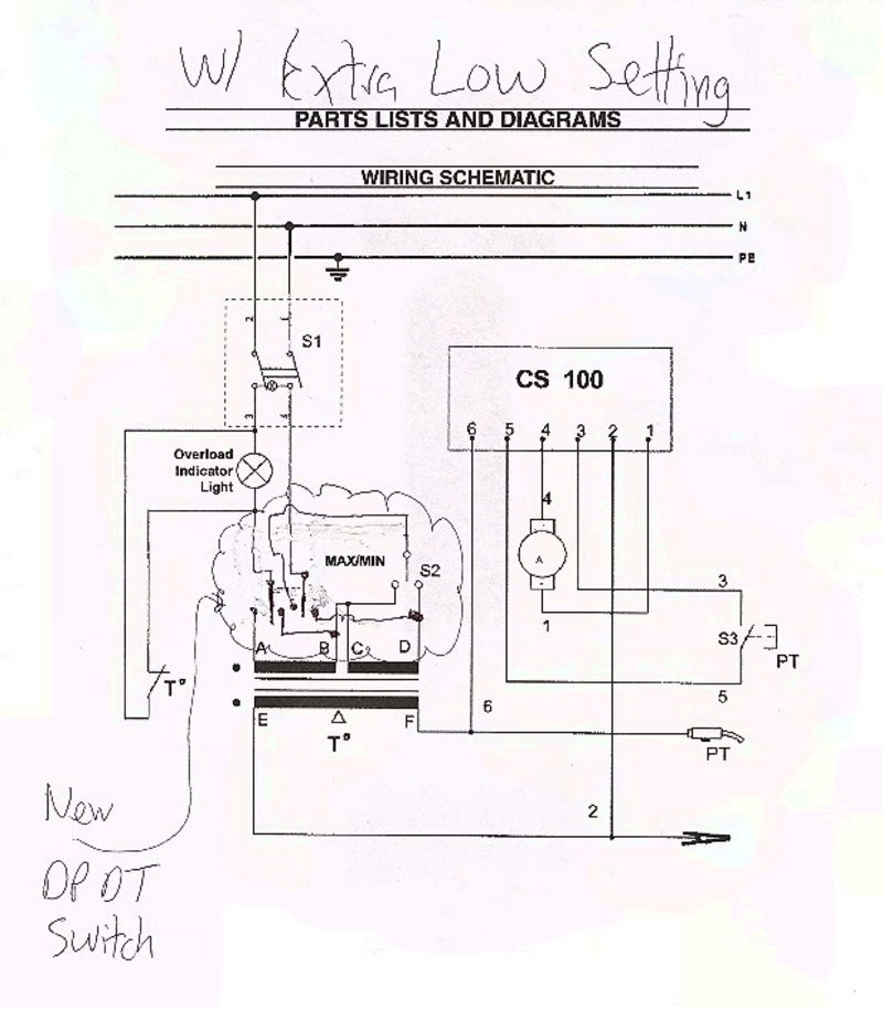 Mig Welder Help (Electrical Enginering) - Pelican Parts Technical Bbs intended for Mig Welder Wiring Diagram