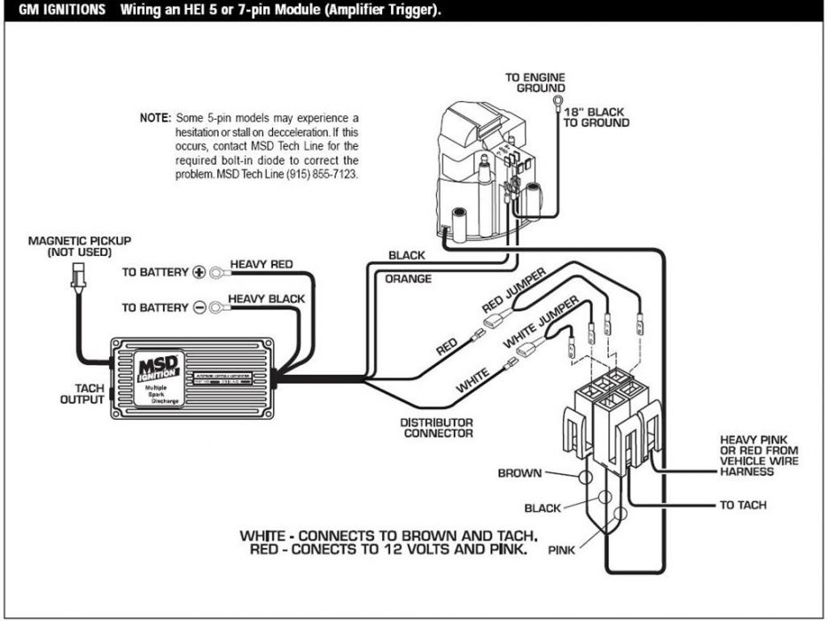 Msd 6Al Wiring Diagram Fuse Box And Wiring Diagram