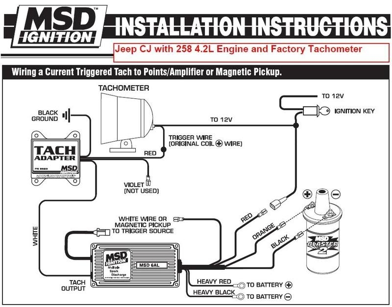Msd distributor wiring diagram fuse box and