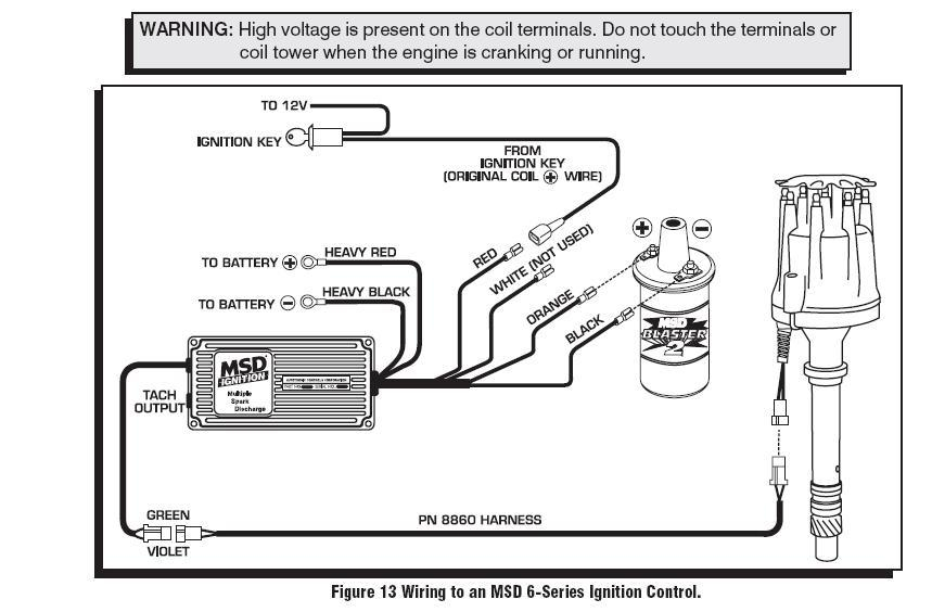 msd 6a wiring diagram