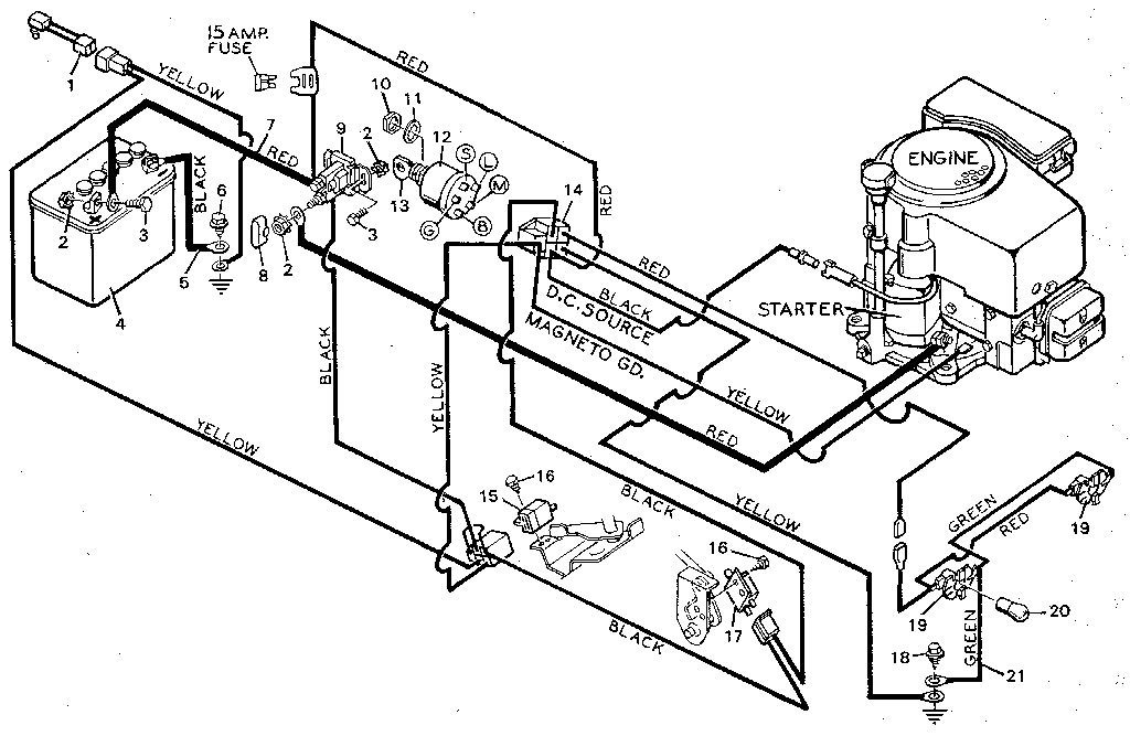 Snapper Series 23 Wiring Diagram together with Engine And Clutch furthermore Wiring Diagram For A Simplicity Broadmoor Lawn Tractor additionally Murray Riding Mower Wiring Diagram Wiring Automotive Wiring Diagrams Inside Murray Riding Lawn Mower Wiring Diagram further Wiring A Briggs And Stratton Engine. on briggs and stratton 12 5 hp wiring diagram