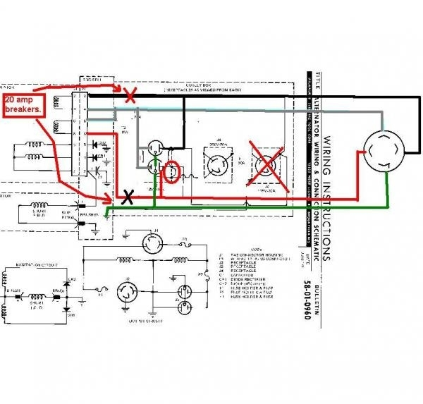 Need Help Wiring Generator To A Transfer Switch. - Doityourself intended for Generator Transfer Switch Wiring Diagram