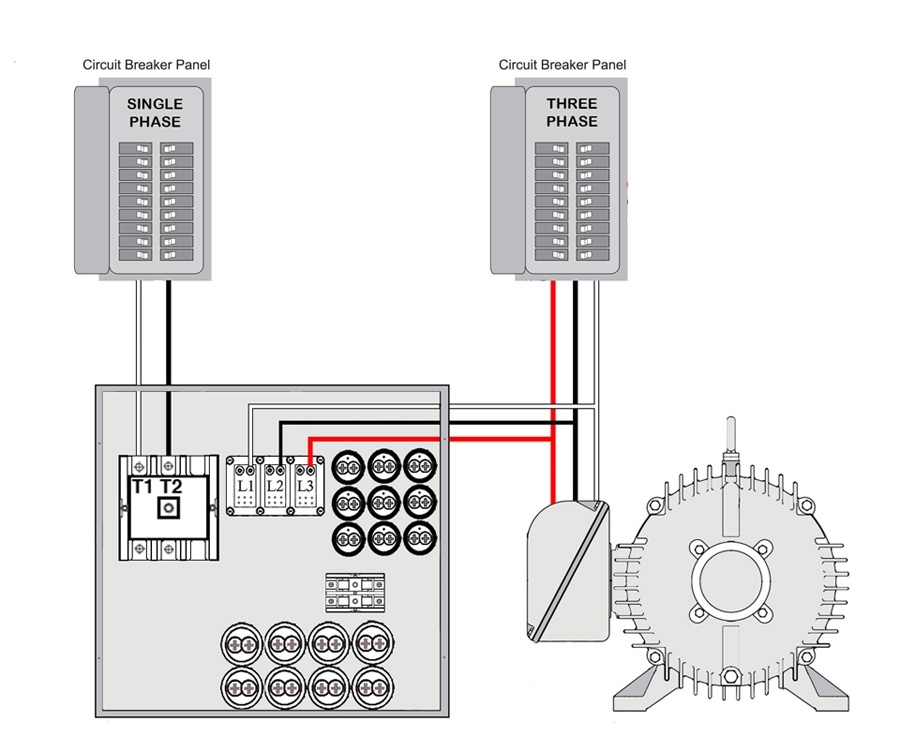 Phoenix Phase Converter with 3 Phase Converter Wiring Diagram