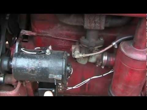 Polarizing Your Delco Remy Generator On A Farmall A,b,c,sa,super C intended for Delco Remy Generator Wiring Diagram