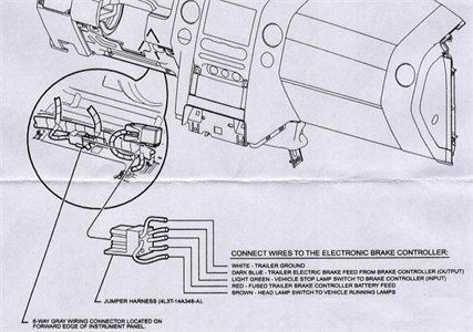 Reese Brake Controller Wiring Diagram with Brake Controller Wiring Diagram