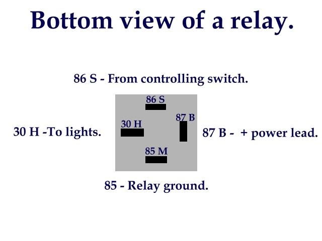 Relay Diagrams - Pirate4X4 : 4X4 And Off-Road Forum for Bosch 5 Pin Relay Wiring Diagram