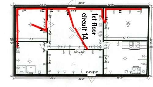 Residential Circuit Diagram Electrical Wiring Information inside Electrical Wiring Diagram For A House