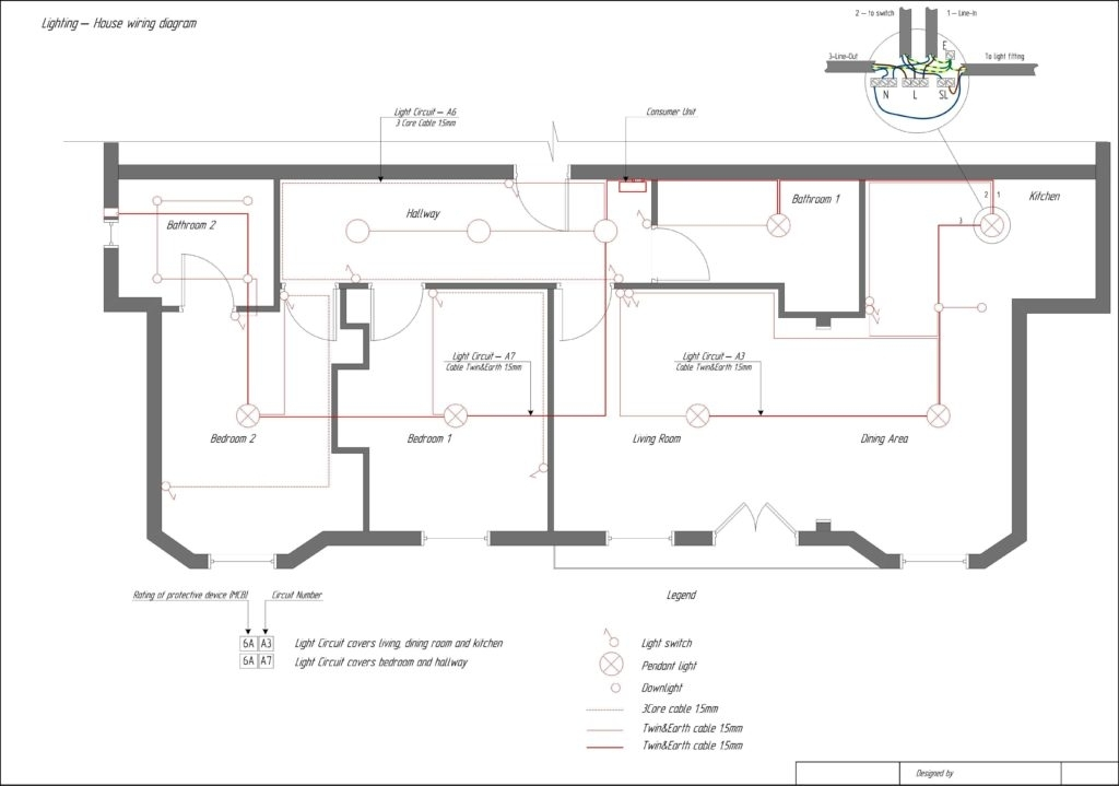 Residential Electrical Wiring Diagrams Pdf For Floor Plan