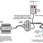 Rgb Led Strip Controller Circuit Diagram Www.ledstripsales within Led Strip Light Wiring Diagram