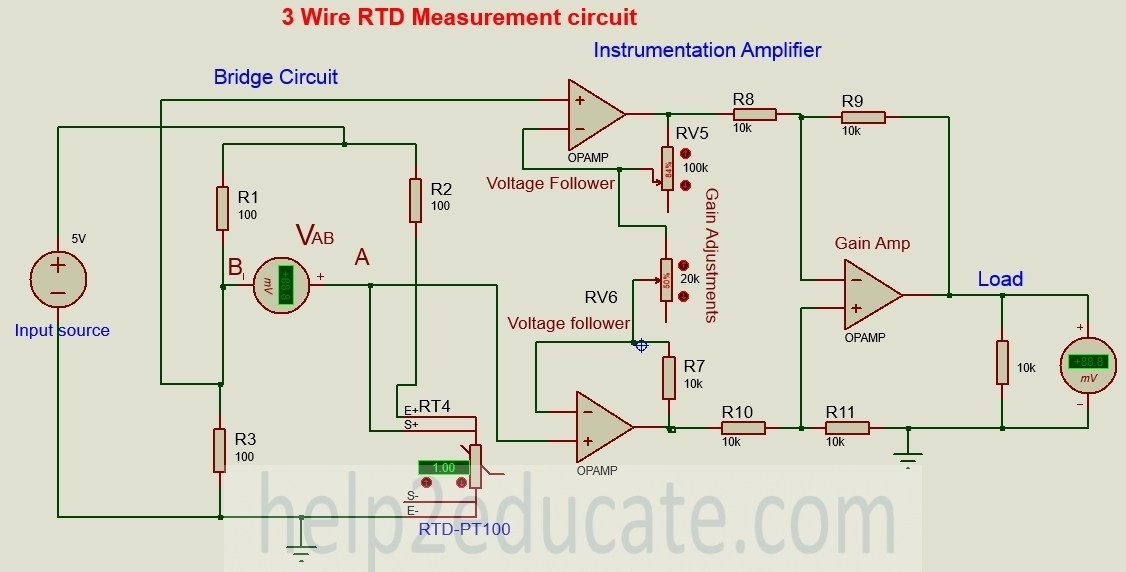 pt100 3 wire rtd wiring diagram 3 wire pt100 wiring diagram | fuse box and wiring diagram 3 wire rtd diagram cad