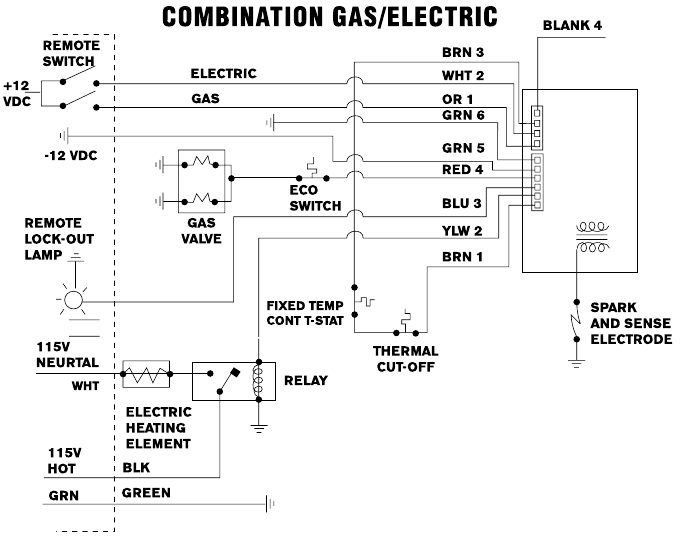 Rv Open Roads Forum: Tech Issues: Atwood Gas/electric Water Heater with regard to Hot Water Tank Wiring Diagram