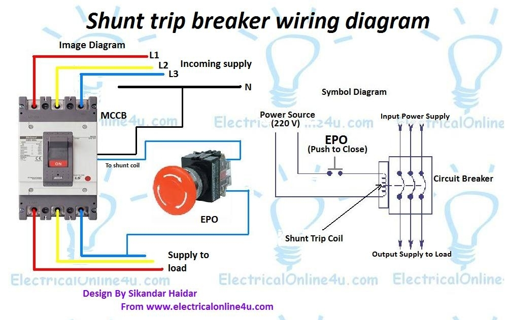 Electronic Circuit Diagram Symbols Ireleast 4 additionally Momentary Contact Switch Wiring Diagram additionally Circuit Breaker Shunt Trip Wiring Diagram besides Cutler Hammer Gfci Breaker Wiring Diagram additionally Generator Automatic Transfer Switch Wiring Diagrams. on shunt breaker wiring diagram