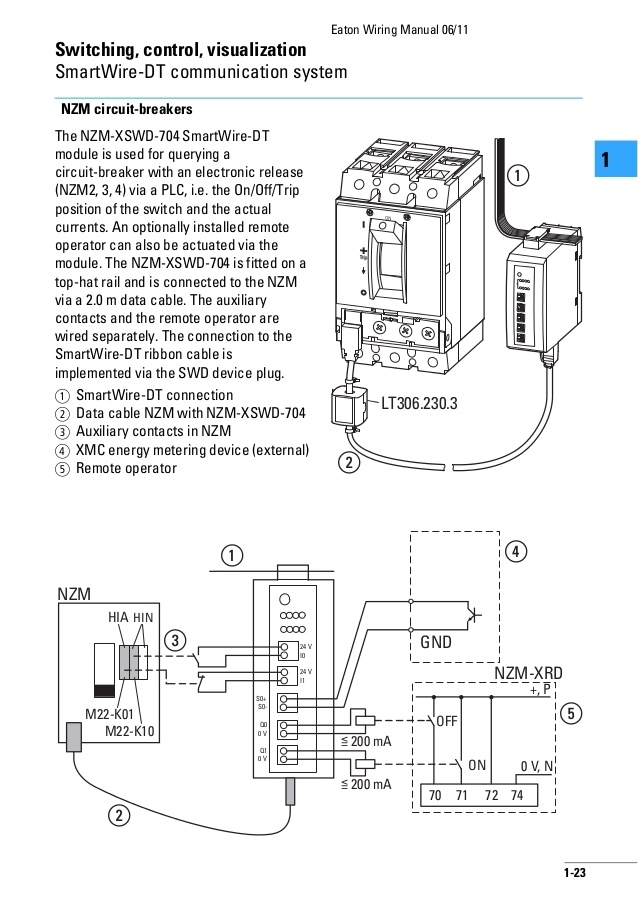 Shunt Trip Wiring. Wiring Diagram Images Database. Amornsak.co for Circuit Breaker Shunt Trip Wiring Diagram