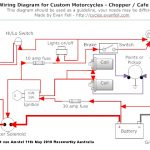 Simple Motorcycle Wiring Diagram For Choppers And Cafe Racers in 1980 Honda Cb750 Wiring Diagram