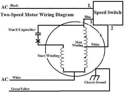Single Phase Motor Wiring Diagram. Wiring. Electrical Wiring Diagrams inside 1 Phase Motor Wiring Diagram