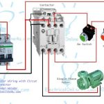 Single Phase Motor Wiring With Contactor Diagram inside 1 Phase Motor Wiring Diagram