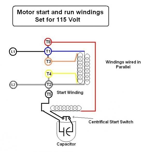Wiring Diagram Single Phase Electric Motor : Century electric motor wiring diagram fuse box and
