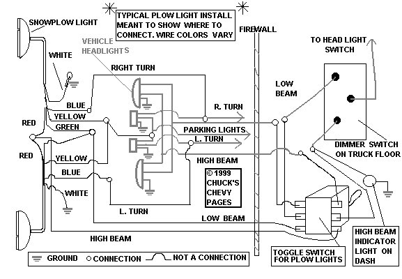 Snow Plow Head Light Wiring Schematic - Snowplowing-Contractors within Arctic Snow Plow Wiring Diagram
