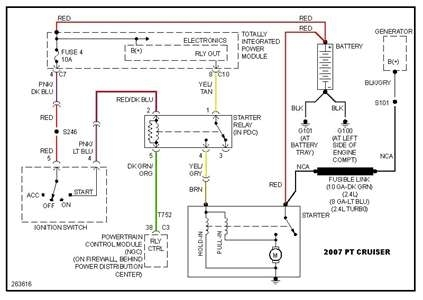 Solved: Need Wiring Diagram For 2002 Pt Crusier Starter - Fixya regarding 2002 Pt Cruiser Wiring Diagram