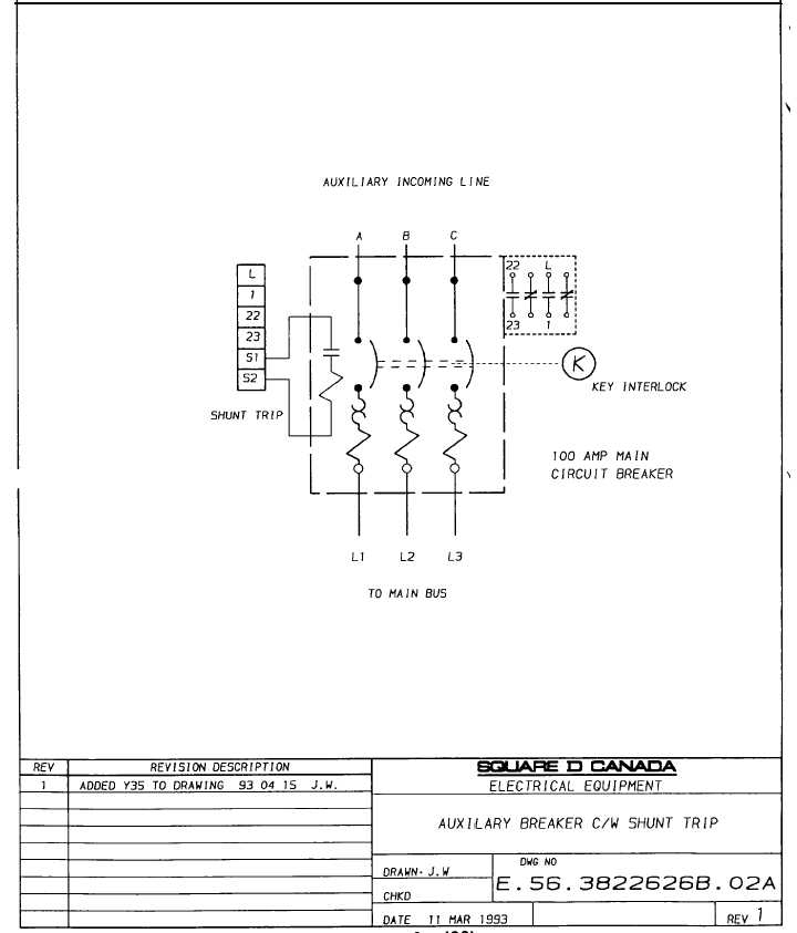 Square D Shunt Trip Breaker Wiring Diagram – Wirdig – Readingrat for Circuit Breaker Shunt Trip Wiring Diagram