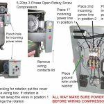 Subpanel Rpc Panel 3 Phase Load Center Wiring With Air Compressor with Compressor Wiring Diagram
