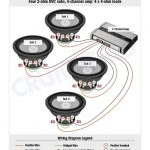 Subwoofer Wiring Diagrams pertaining to 4 Channel Amp Wiring Diagram