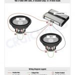 Subwoofer Wiring Diagrams pertaining to Dual 1 Ohm Wiring Diagram