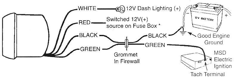Sunpro Tach To Hei Wiring Diagram. Wiring Diagram Images Database ...