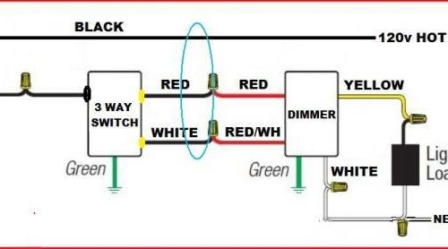 Way Dimmer Wiring Schematic on 3-way switch schematic, lutron dimmer switch schematic, 3-way light pictorial, 3-way circuit with dimmer,