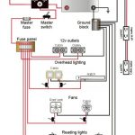 Teardrop Camper Wiring Schematic | Lonely Teardrops | Pinterest intended for Camper Wiring Diagram