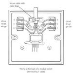 Telephone Socket Wiring - How To Do It pertaining to Krone Phone Socket Wiring Diagram