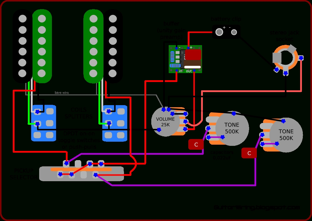 The Guitar Wiring Blog - Diagrams And Tips: Wiring Inspired By in Guitar Wiring Diagram