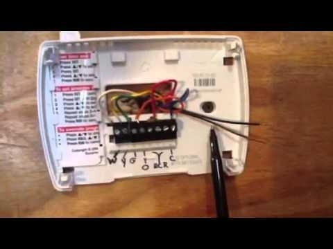 Thermostat Wiring Made Simple - Youtube intended for Honeywell Wiring Diagram