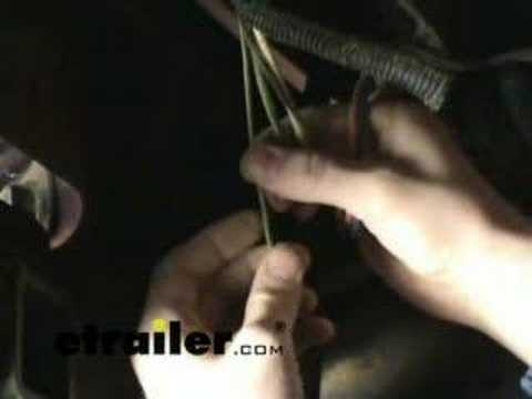 Trailer Wiring Harness Install Chevy Silverado- Etrailer - Youtube with regard to 1998 Chevy 2500 Wiring Diagram