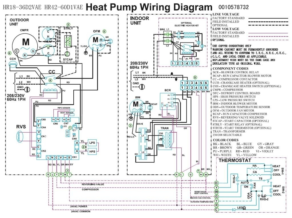 Trane Heat Pump Wiring Diagram | Heat Pump Compressor Fan Wiring for Heat Pump Wiring Diagram