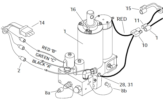 Truck Side Meyer/diamond Touchpad Control Harness Wiring Kit Power with regard to Arctic Snow Plow Wiring Diagram
