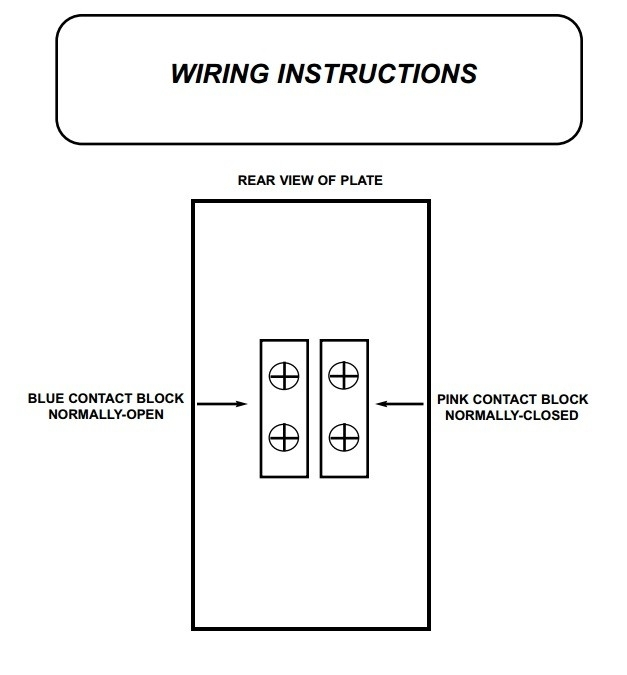 Ts-32 Emergency Door Release Latching Mushroom Pushbutton By Alarm pertaining to Emergency Door Release Wiring Diagram