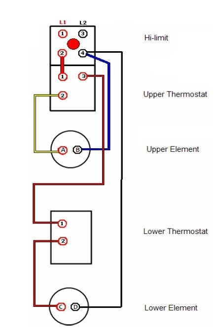 electric hot water heater wiring diagram | fuse box and ... typical space heater wiring diagram