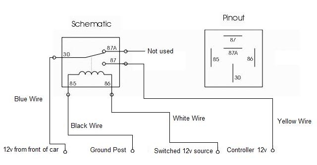 Understanding Automotive Relays | Installing Engine Relay in 12V Relay Switch Wiring Diagram