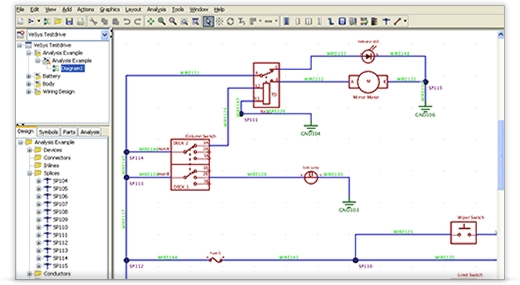 Vesys design mentor graphics pertaining to free software