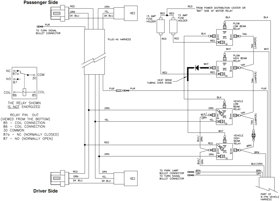 Western Plow Wiring Help. Wiring Diagram Images Database. Amornsak.co pertaining to Boss Snow Plow Wiring Diagram