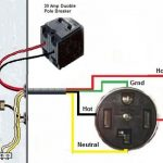 Wire A Dryer Outlet intended for 4 Wire 240 Volt Wiring Diagram