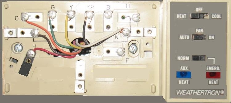 Wire A Thermostat with regard to Honeywell Heat Pump Thermostat Wiring Diagram