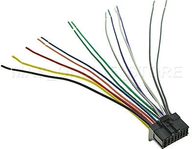 Wire Harness For Pioneer Deh-P5100Ub Dehp5100Ub *pay Today Ships within Deh P5100Ub Wiring Diagram