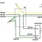 Wiring A 2-Way Switch inside 2 Way Switch Wiring Diagram