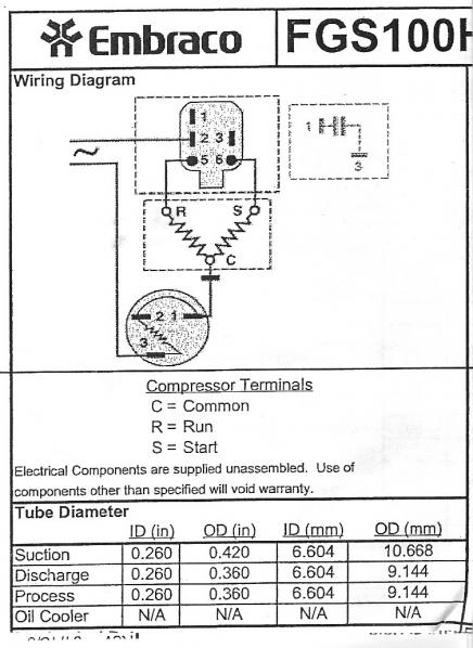 Wiring A Refrigerator Compressor - Doityourself Community Forums within Compressor Wiring Diagram