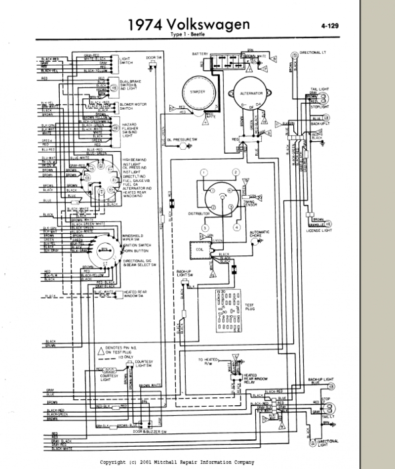 Wiring Diagram 1974 Vw Super Beetle – Readingrat throughout 1973 Vw Beetle Wiring Diagram