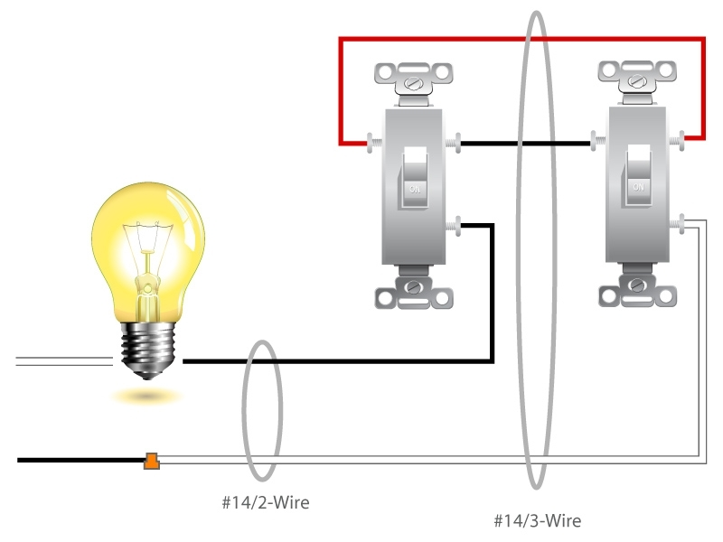 Wiring Diagram 2 Lights 1 Switch. Wiring. Electrical Wiring Diagrams with 2 Wire Light Switch Diagram